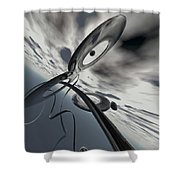 Id2a Shower Curtain