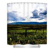 Idaho Field Shower Curtain