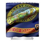 Idaho State Flag Shower Curtain