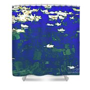 Dreamy Impressionism Shower Curtain