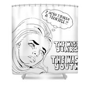 Idle Teen Shower Curtain