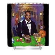 Idris Elba As James Bond 007 #2 Shower Curtain