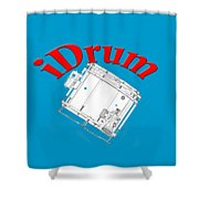 iDrum Shower Curtain