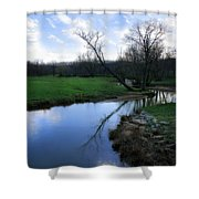 Idyllic Creek Shower Curtain