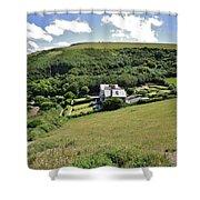 Idyllic North Cornwall Shower Curtain