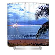Idyllic Paradise In Bocas Del Toro, Panama II Shower Curtain
