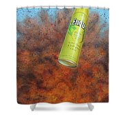 I.e.d. 2 Shower Curtain by James W Johnson