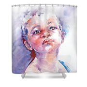 If . . .  Shower Curtain