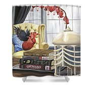 If Hearts Could Fly Shower Curtain
