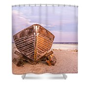 If I Had A Boat Shower Curtain
