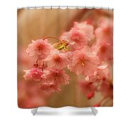 If Only For A Moment Shower Curtain by Angie Tirado