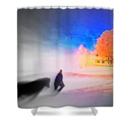 If Our Home Is Our Golden Castle  Shower Curtain