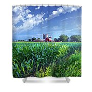If Seasons All Were Summers Shower Curtain