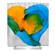 If The World Would Have Heart Shower Curtain