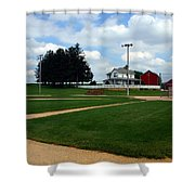 If You Build It They Will Come Shower Curtain by Susanne Van Hulst