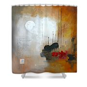 If You Forget Me Shower Curtain