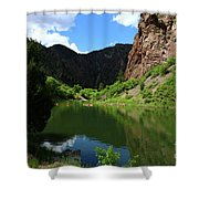 If You Seek Beauty In A River  Shower Curtain