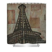 Iffel Tower Shower Curtain