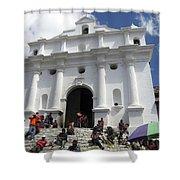Iglesia De Santo Tomas Church Shower Curtain