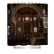 Iglesia Maria Auxiliadora - San Salvador Xix Shower Curtain