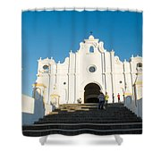 Iglesia San Andres Apostol - Apaneca Shower Curtain