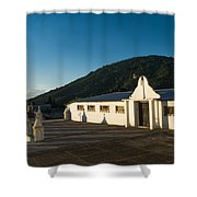Iglesia San Antonio Ahuachapan 10 Shower Curtain