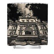Iglesia San Francisco - Antigua Guatemala Bnw I Shower Curtain
