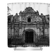 Iglesia San Jose El Viejo - Antigua Guatemala Bnw Shower Curtain