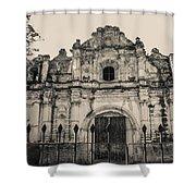 Iglesia San Jose El Viejo - Antigua Guatemala Shower Curtain