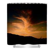 Ignite The Phoenix Shower Curtain