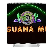 Iguana Mia Shower Curtain
