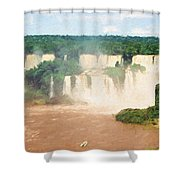 Iguazu Falls 2 Shower Curtain