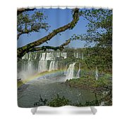 Iguazu Falls Shower Curtain