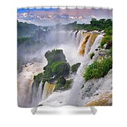 Iguazu Falls Ix Shower Curtain