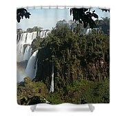 Iguazu Falls Panoramic View Shower Curtain