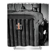 Ih Tractor Shower Curtain