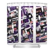 III Shower Curtain