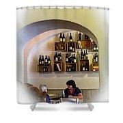 Il Bocconcino Ristorante Shower Curtain