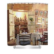 Il Caffe Dell'armadio Shower Curtain by Guido Borelli