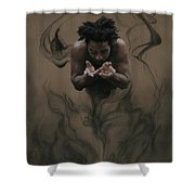 Il Dono The Gift Shower Curtain