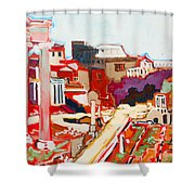 Il Foro Romano Shower Curtain