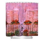 Il Terrazzo In Roma, II Shower Curtain