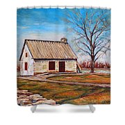 Ile Perrot House Shower Curtain