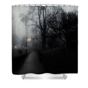 I'll Walk With You Tonite Shower Curtain