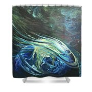 ill Wind Shower Curtain