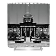 Illinois Old State Capital Building Shower Curtain
