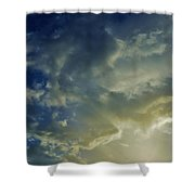Illuminated Sky Shower Curtain