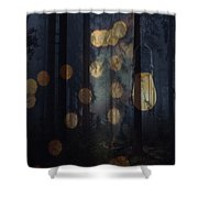 Illuminated Shower Curtain