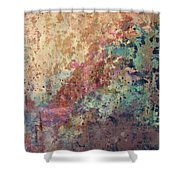 Illuminated Valley II Diptych Shower Curtain
