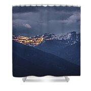 Illuminating The Scotchmans Shower Curtain